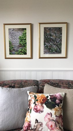 Banbridge Inn: Details: Original photographic prints & linen pillows