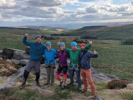 Castleton, UK: Filming at Burbage North for the Peak District Experiences Collection
