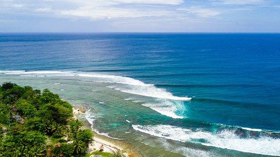 Tanjung Setia Beach: ujung bocur