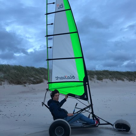 Wild Beach single handed Blokart Safari – fotografija