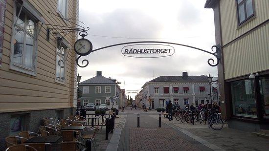 Pitea, สวีเดน: Rådhustorget