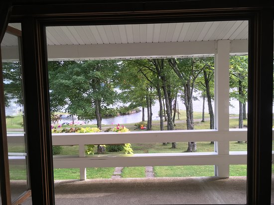 Michigamme, MI: View from our livingroom
