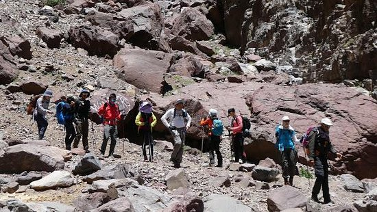 Imlil, Maroko: High Atlas mountains... 2 days berber villages trek