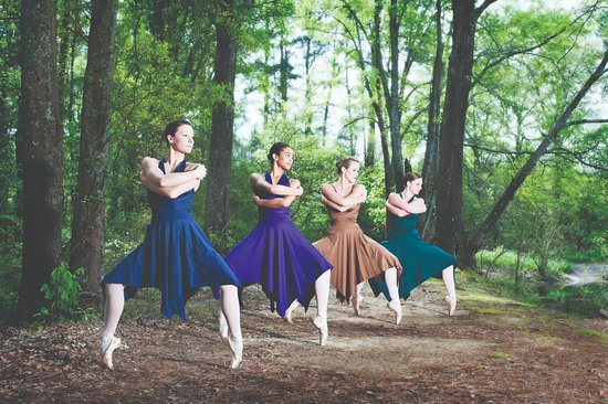 Monroe, LA: Talented dancers with the Twin City Ballet during Ballet Under the Star at Kiroli Park, West Mon