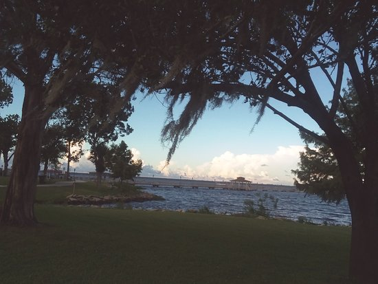 Green Cove Springs, FL: Feel the river breeze as it blows the Spanish moss on a warm summer day