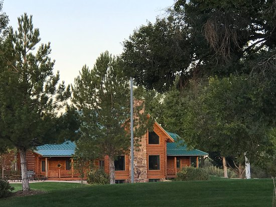 The Hideout Lodge & Guest Ranch: The Hideout - Main Lodge