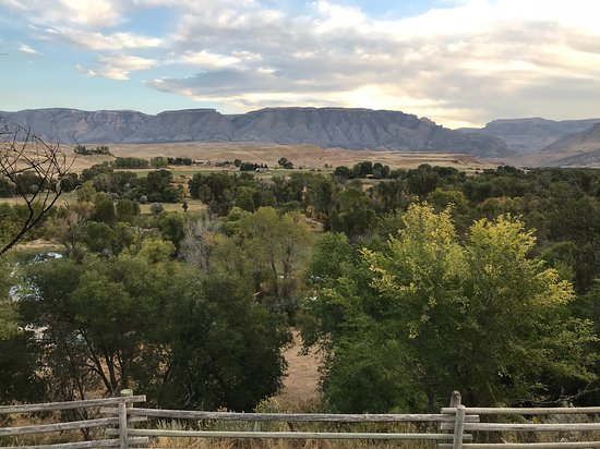The Hideout Lodge & Guest Ranch: View from the porch of the Casita