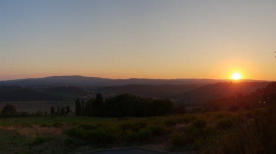 Villa San Michele: Sunset from pool