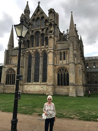 Ely Cathedral: Outside view of the cathedral