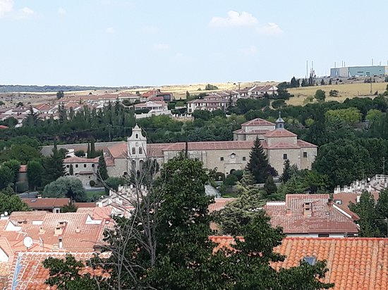 Province of Avila, สเปน: vistas desde el recorrido