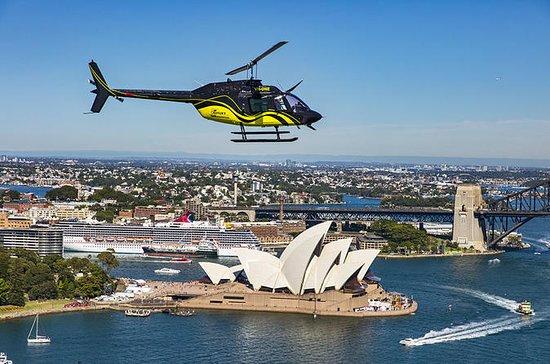 シドニー港と沿岸ヘリコプターツアー20分