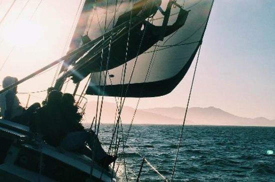 2-timers Sunset Sail på San Francisco Bay