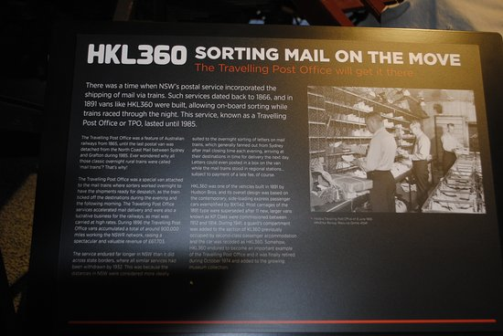 Mail Van - Picture of NSW Rail Museum, Thirlmere - TripAdvisor