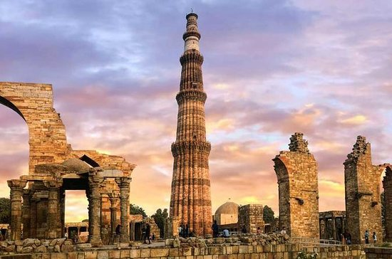 Delhi Tour avec Taj Mahal