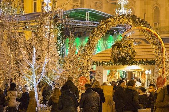Zagreb Julmarknadsbesök