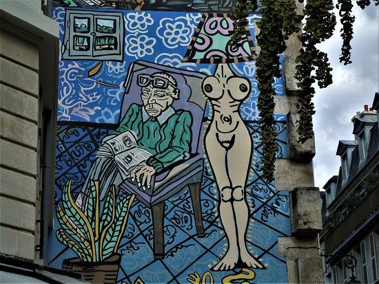 Fresque Don Quichotte