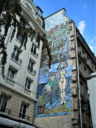 Fresque Don Quichotte
