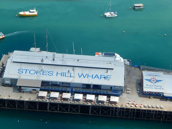 Airborne Solutions: Stocks Hill wharf.