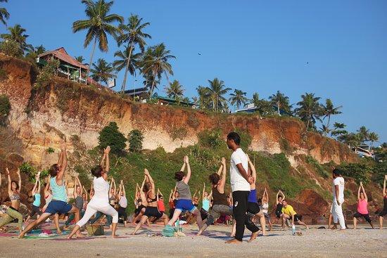 Varkala, India: Yoga Teacher Training in Kerala, Rishikul Yogshala
