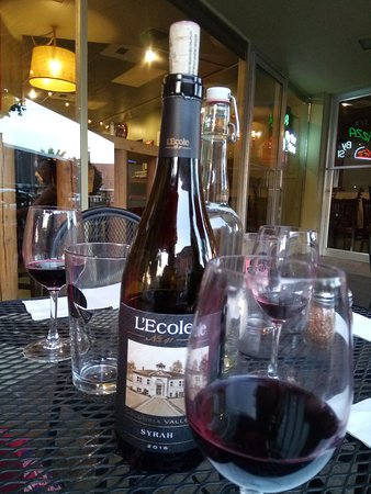 Sweet Basil Pizzeria: Our selection of Wine