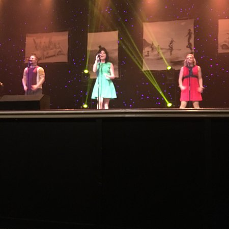 Energetic and talented group performance