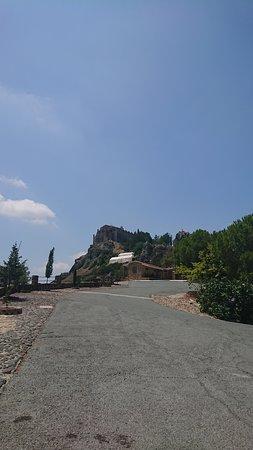 Larnaka District, Cyprus: Вид на монастырь со смотровой