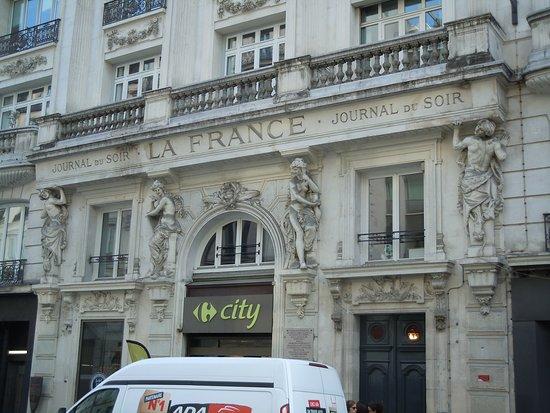 Ancien Immeuble du journal du soir La France