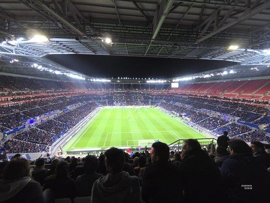 Visite Du Groupama Stadium During Match