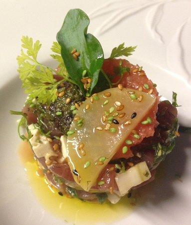 La Montgolfiere Henri Geraci: Tunna, tofu, daikon...