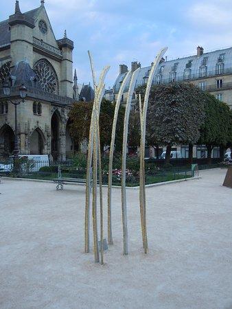 Sculpture Hautes herbes