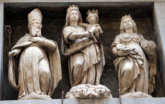 Monastero di Santa Grata in Columnellis: храм