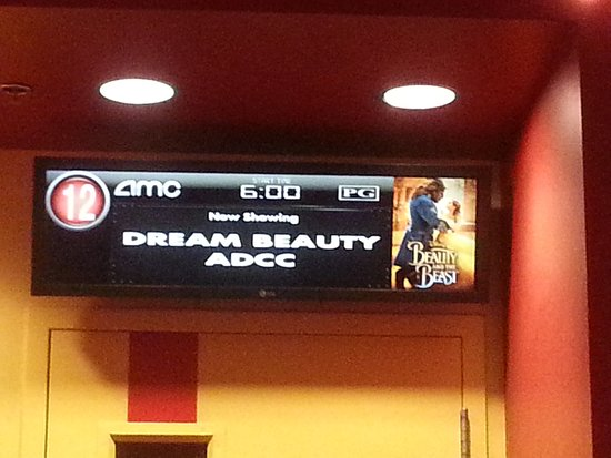 auditorium information for Beauty & the Beast at AMC Lake in the Hills 12