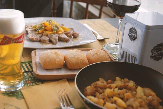 Prosecco, Италия: Arrosto di vitello + patate in tecia