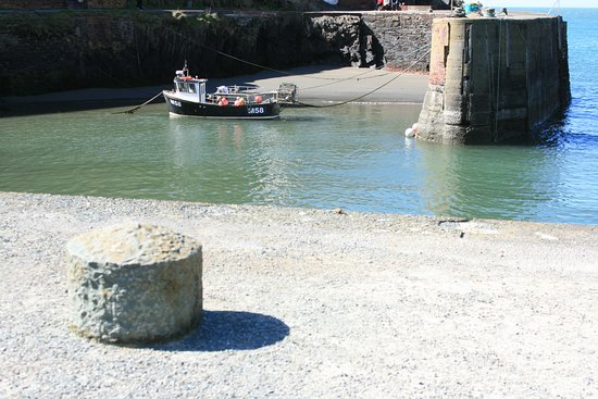 Porthgain, UK: The harbour itself