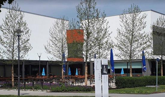 Hallbergmoos, ألمانيا: Parkwirtschaft Hallbergmoos - Eingang