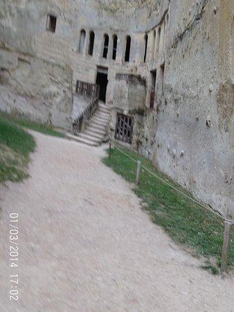 Breze, Prancis: dans les anciennes douves