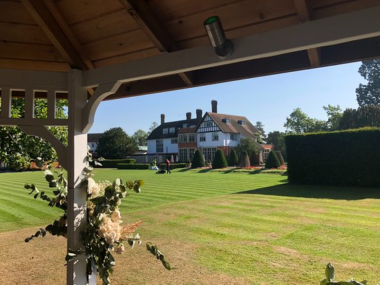 Stock, UK: We're considering getting married beneath the gazebo--this would be our view!