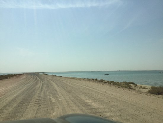 Ruwais, Emirati Arabi Uniti: Road from military base