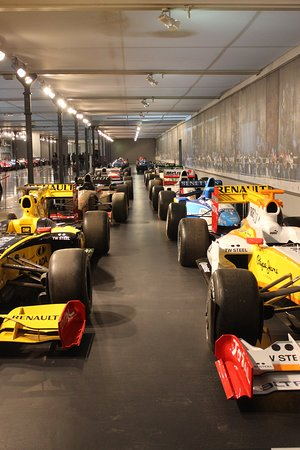 Cité de l'Automobile: Formel-1-Rennwagen