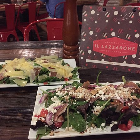 Delicious salads, cool casual vibe