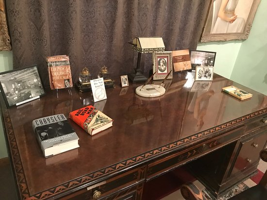 Ellis, KS: Desk with books written by Chrysler (and about Chrysler)
