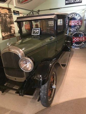Ellis, KS: An old Chrysler in the museum