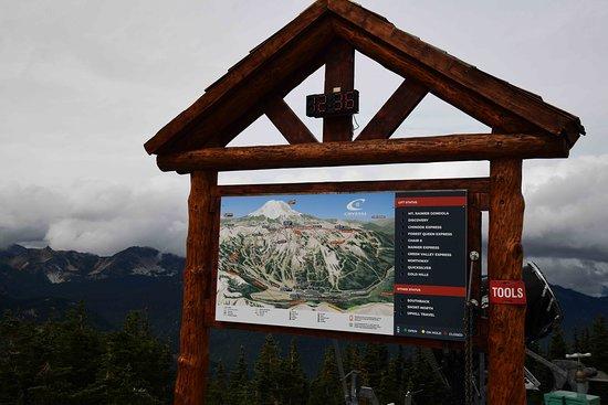 Crystal Mountain, WA: Helpful info to find local landmarks