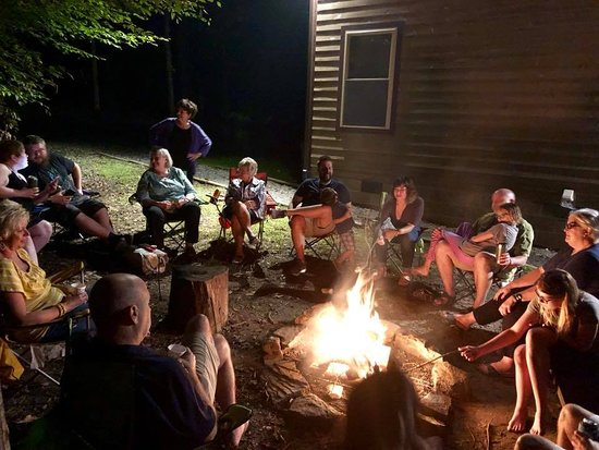 Adventures on the Gorge: Gathered 'round the fire