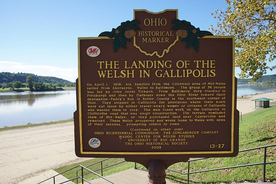 Gallipolis, OH: Historical marker