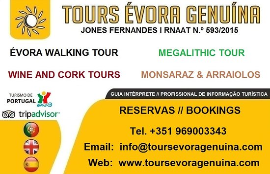Tours Evora Genuina