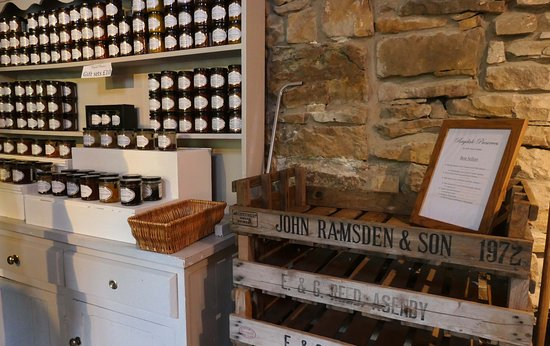 Leyburn, UK: Tasting room