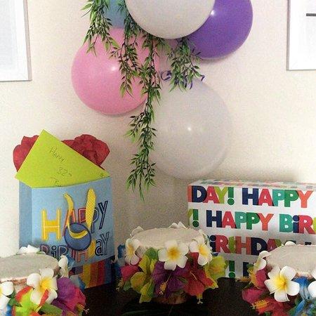Birthday at the Palms