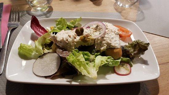 Merlimont-Plage, ฝรั่งเศส: Rillette de poisson au fromage frais
