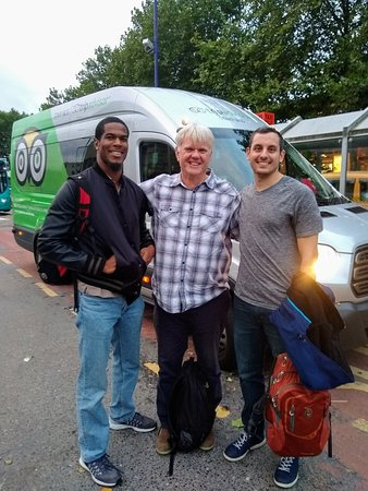 Oxfordshire, UK: As I leave Oxford, I'm sad to say goodbye to Chris - the TripAdvisor minibus driver! You never k